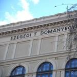 Képek: lezuhant a szegedi egyetem feliratának egyik betűje