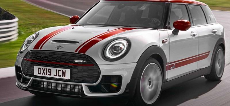 12,5 millió forinttól indul itthon a 306 lóerős új Mini