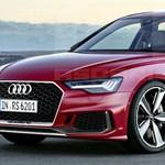 Zöld rendszám és 680 lóerő: hibrid családi sportkocsiként támad az új Audi RS6