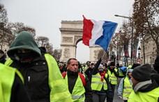 Vízágyúkkal és páncékosokkal várják a sárgamellényesek tüntetését Párizsban