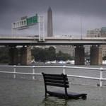 Villámárvíz öntötte el Washingtont, a Fehér Házba is betört