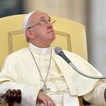 A pápa megint tett valamit a fagyoskodók megsegítéséért Rómában