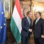 Orbán Viktorral tárgyalt Budapesten Donald Tusk