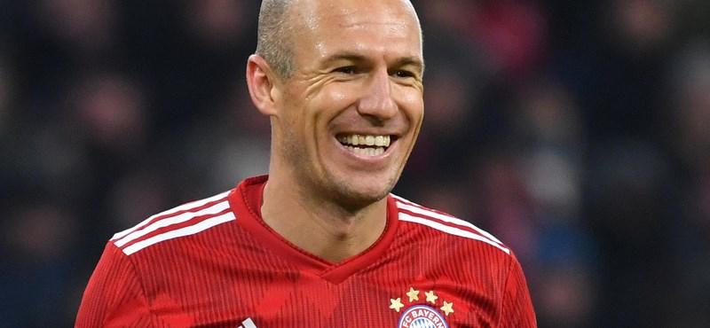 Robben visszatér