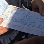 Fotó: gyanúsan drága vonatjegyet adtak el a menekülteknek