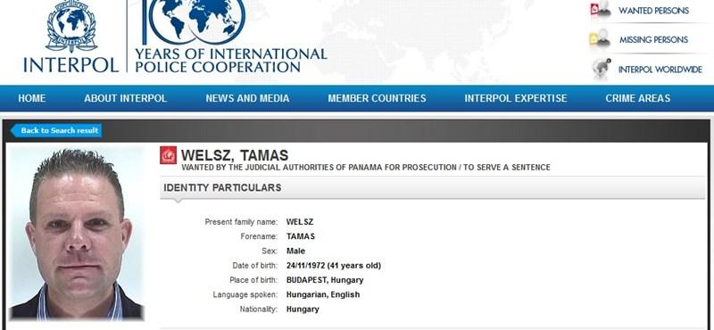 Még mindig körözi az Interpol a halott Welsz Tamást