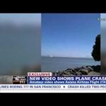 Videó: véletlenül lefilmezték a halálos repülőbalesetet