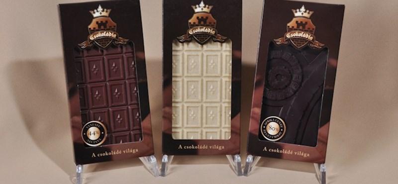 Gumimaci és 23 karátos arany is kerül a kézműves csokira