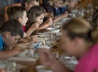 Csontkukacok a menzás levesben: a Nébih szerint nem a konyhán kerültek bele