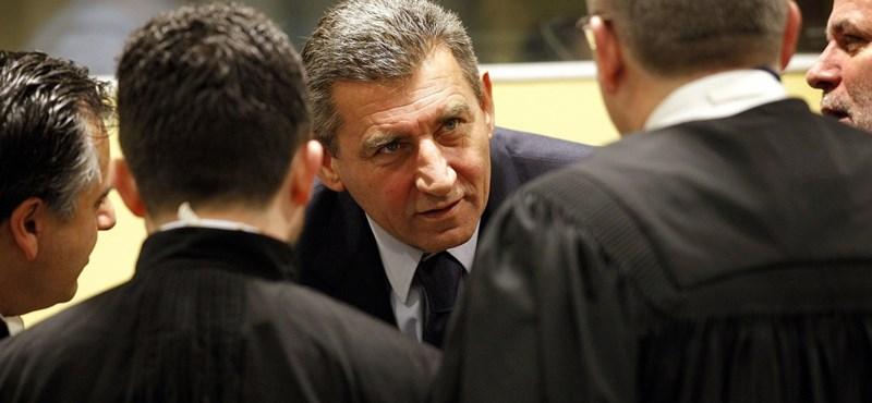 Felmentették a háborús bűnökkel vádolt Gotovina tábornokot