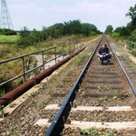 Ki akartak siklatni egy vonatot Berettyóújfalunál