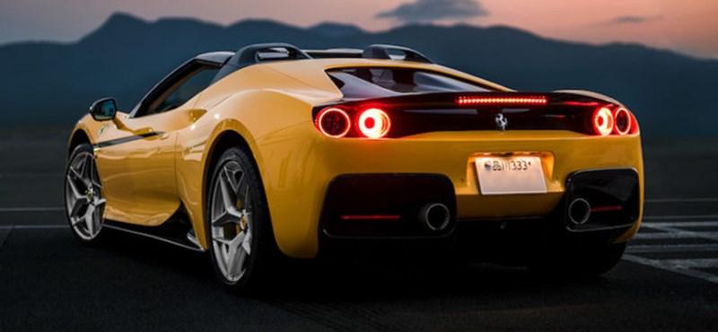 1000 lóerős és 600 ezer euró lehet az új, hibrid, szuper-Ferrari
