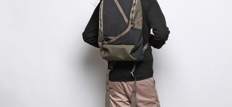 Ezzel a designer hátizsákkal az erdőben is menő maradhatsz