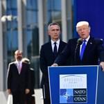 Trump nagyot alakított Brüsszelben, jöhetnek a mémek – videó
