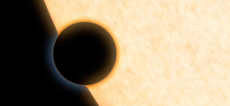 Felfedeztek egy hatalmas bolygót, olyan, mint egy léggömb
