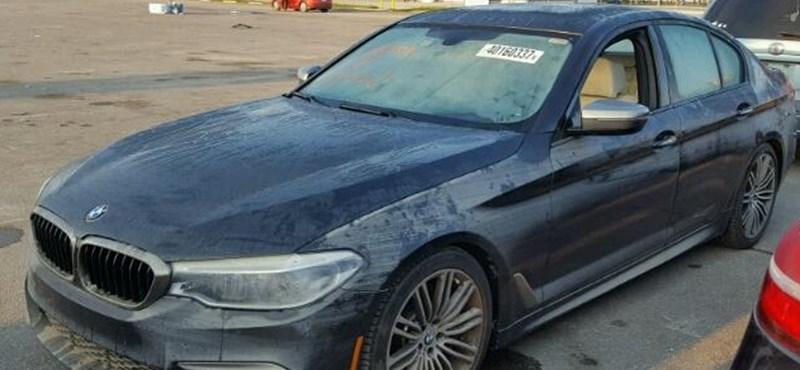 Hogyan kerülhet egy 0 kilométeres vadonatúj BMW M550i fillérekbe?