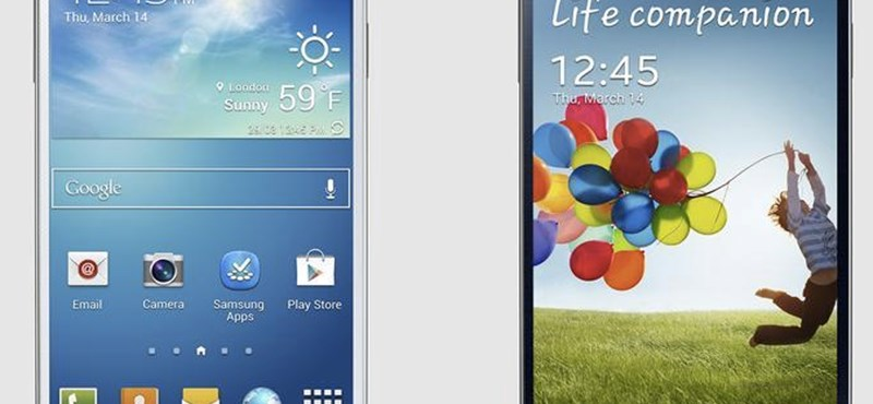 Itt a Samsung Galaxy S4: forradalom helyett élettárs