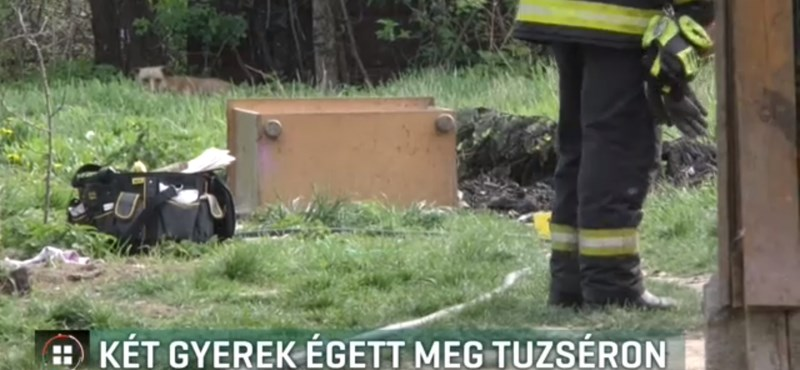 Berobbant egy flakon egy tuzséri ház udvarán: két gyerek súlyosan megsérült