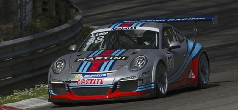 Loeb avatja a Porsche új versenygépét Barcelonában