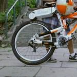 Bármelyik bicajra felszerelhető az e-pótkerék