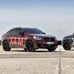 450 lovas divatterepjárók, íme az új BMW X3 M és X4 M