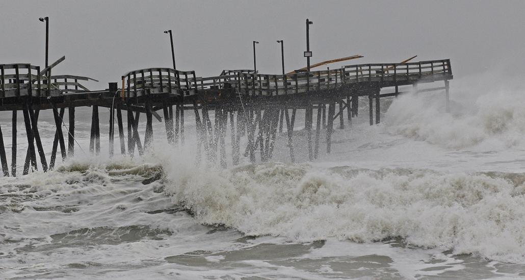 Sandy - közeledik a hurrikán - Kill Devil Hills