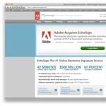 Erősít az elektronikus aláírások terén az Adobe
