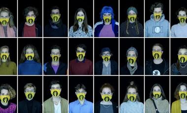Arcok a blokád és a maszkok mögött: ők az SZFE tüntető hallgatói