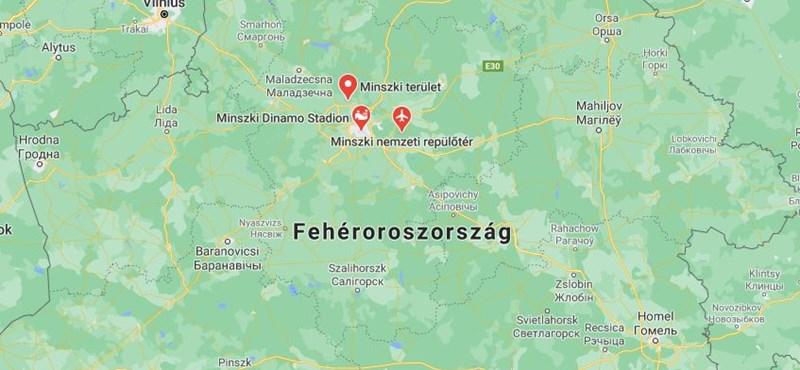 Felgyújtotta magát egy férfi egy rendőrőrs előtt Belaruszban