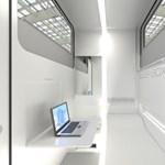 Luxus lakódobozok utazóknak - LCD TV és WiFi a kényelemért