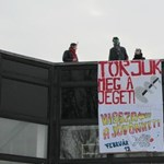 A nap képe: gerillaakció az ELTE lágymányosi campusán