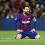 Messi először kapott pirosat a Barcelona nagycsapatában, akár 12 meccsre is eltilthatják