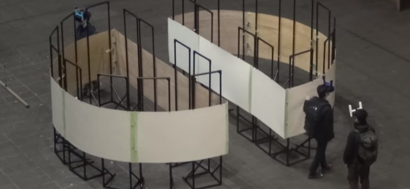 Videó: egy 4x4-es szobában is végtelenségig sétálhatunk a virtuális valóságban