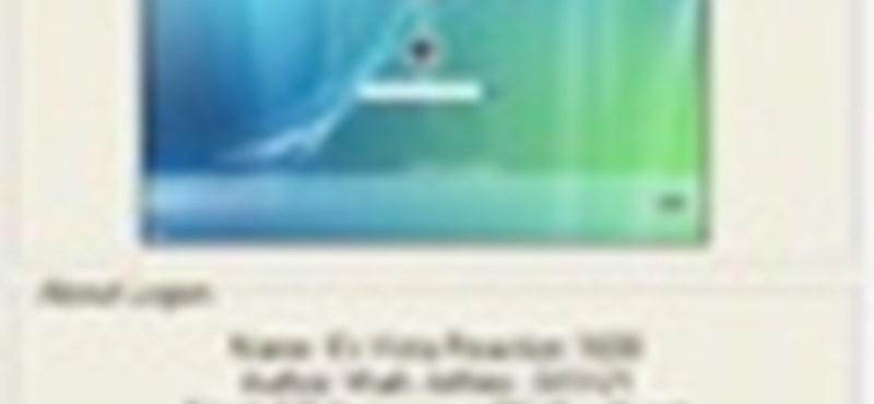 Készítsen egyedi login képernyőt XP-n és Vistán!