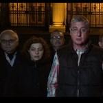 Gyurcsányék a parlament lépcsőjén fognak aludni az éjjel