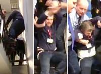 Négy fegyveres rángatta ki Hadházyt a közmédia székházából