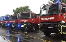 Újabb tűz a fővárosban, ezúttal a Ferencvárosban