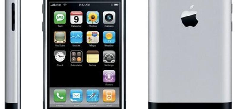 Befellegzett az eredeti iPhone-nak