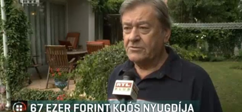 Röhejes nyugdíjat kap Koós János, de nem ő az egyetlen
