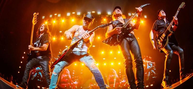 Scorpions-koncert lesz novemberben a Sportarénában