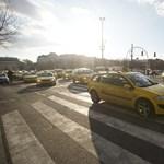 Már nem tüntetnek a taxisok, újra járható a belváros