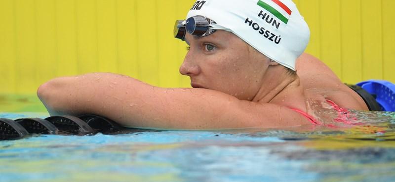 Hosszú a világ idei legjobbját úszta 400 vegyesen