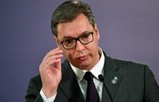Koronavírusos a szerb elnök fia
