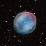 Megdöbbentő felvétel a négy fényév átmérőjű planetáris ködről