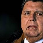 Meghalt a volt perui elnök, aki lelőtte magát a letartóztatásakor