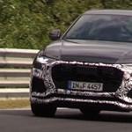 Tesztelik az Audi Q8-as csúcsváltozatát, ami Lamborghini erejű