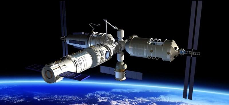 Egy 8500 kilós, irányíthatatlan űrállomás zuhan a Föld felé –mitől kell félnünk, mi történhet?