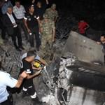 Cipruson csapódott be egy Szíriából kilőtt rakéta