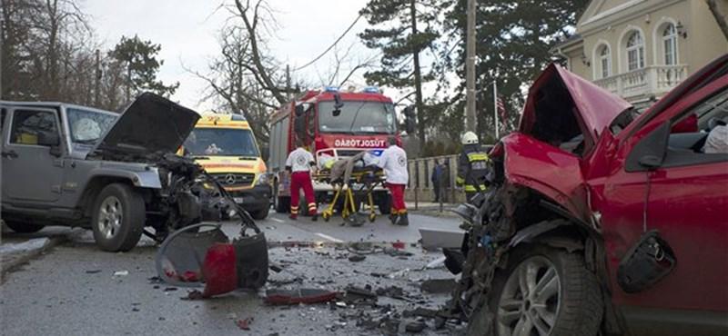 Cserbenhagyásos baleset történt a fővárosban, egy kisgyerek is megsérült