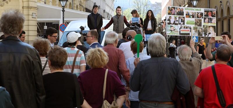 A BKK forgalomkorlátozást jelentett be a délutáni demonstráció idejére